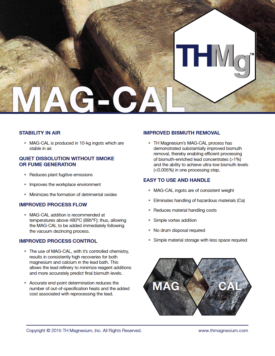 TH Magnesium Mag-Cal Official Brochure
