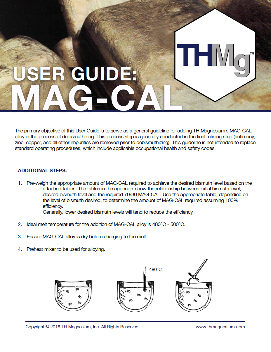 TH Magnesium Mag-Cal User Guide